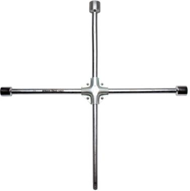 Chiave a croce quadrata 24 x 27 x 32 x 32 x 20 mm (3/4)