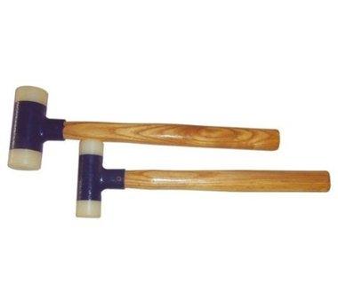 Martello, testa in nylon, 30 e 45 mm, 2 pezzi