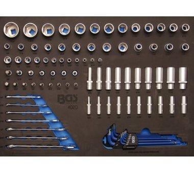3/3 Modulo utensili Chiavi a bussola da 90 pezzi e chiave combinata