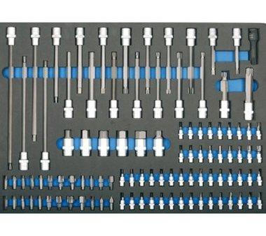 3/3 Modulo utensili 101 inserti e chiavi a bussola