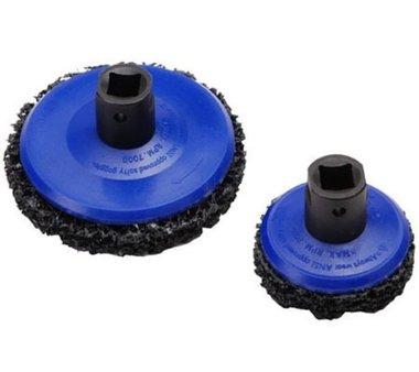 Set spazzole per mozzi a disco 65 mm diametro 105 mm