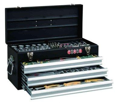 Cassetta degli strumenti Schiuma riempita 109 parti