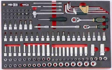 Combinazione di tappi in schiuma in 135 parti