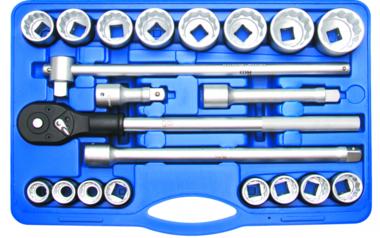 Set di chiavi a tubo da 20 mm (3/4) inches 21 piece 21 piece