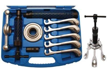 Gruppo estrattore ad albero motore, idraulico