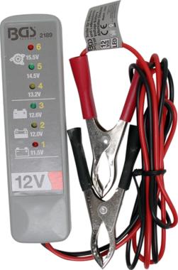 Tester della batteria e del sistema di ricarica