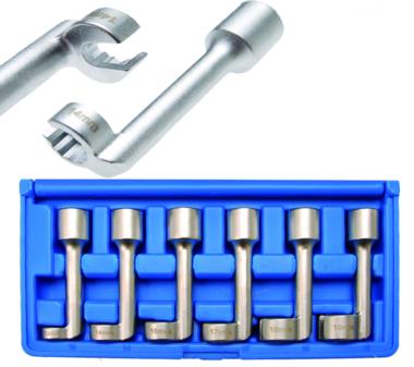 Set di chiavi per tubi speciali 6 pezzi - 1300