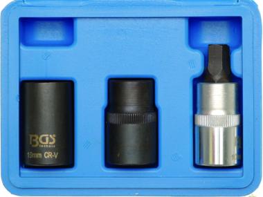 Set chiavi a bussola per pinze freno 12,5 mm (1/2) 3 pz.