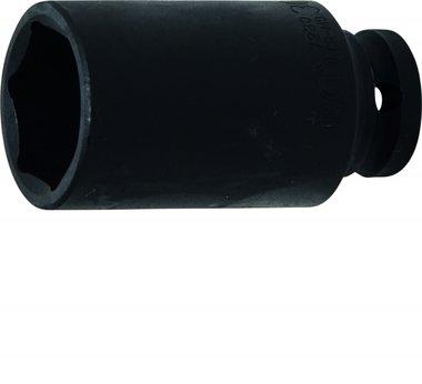 1/2 tappo di forza lungo 6 lati 30 mm