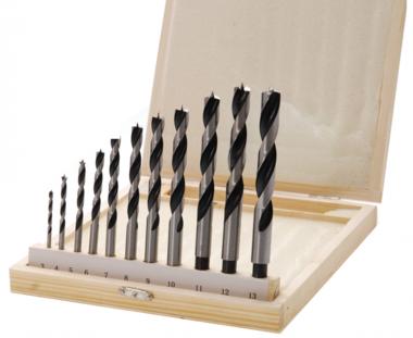 Set di punte per legno /centro 13 pezzi