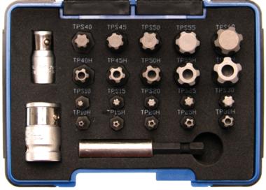 Bit Set  Profilo TS PLUS (per Torx Plus)  23 puzzazioni