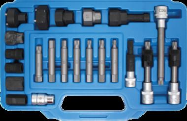 Set di chiavi dinamometriche e chiavi a tubo 22 pz