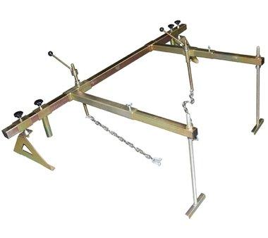 Fissaggio del motore con supporto a 4 punti 510 - 845 mm, 315 kg