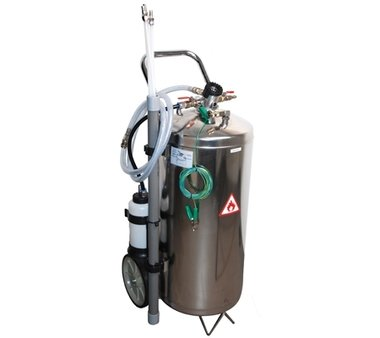 Aspirazione pneumatica del carburante 40 litri
