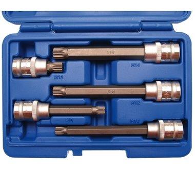 Set di tappi per inserti 12,5 mm (1/2) drive Spline 5 parti