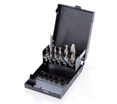 HSS G Trapano / rubinetto e set di stampi 7 pz