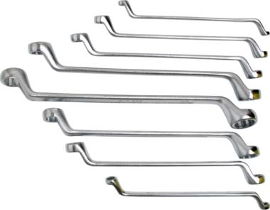 Set di doppi tenditori ad anello offset 6x7 - 20x22 mm 8 pezzi
