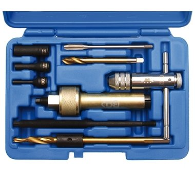 Rimozione candelette a 9 pezzi Kit di utensili M9