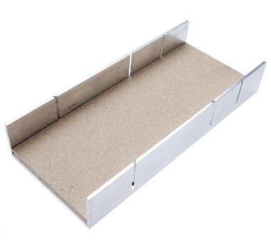 Contenitore in alluminio 245x106x106x44 mm