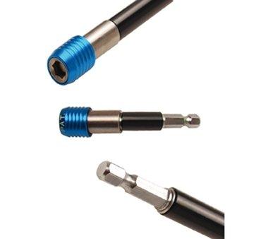 Porta-inserti automatico ad esagono incassato 6,3 mm (1/4), 80 mm