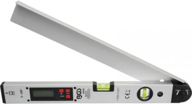 Goniometro digitale LCD con livella a bolla daria da 450 mm
