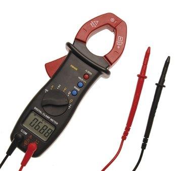 Multimetro digitale con pinza per corrente continua e alternata