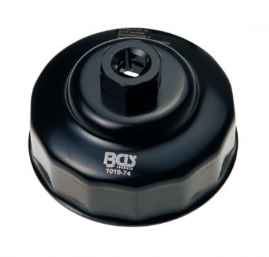 Chiave filtro olio 14 lati diametro 74 mm per Mercedes-Benz, VW