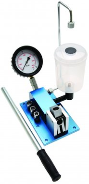 Dispositivo per test e regolazione iniettori diesel