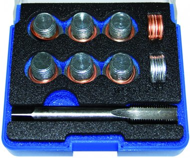 Kit di riparazione per lo scarico dellolio filettatura M14 x 1,25, 25 pezzi