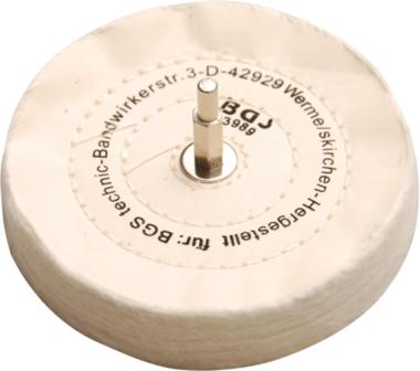 Disco di lucidatura con mandrino 6 mm