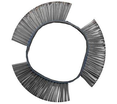 Spazzola metallica dritta diametro 103 x 23 x 0,5 mm