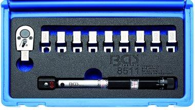 Chiave dinamometrica per raggi, teste intercambiabili 3 - 15 Nm