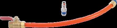 Tubo flessibile di ricambio con valvola per BGS-68000