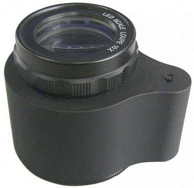 Borsa lente di ingrandimento / lente di ingrandimento con scala di illuminazione a led