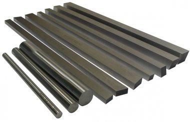 Set di rettangolo di acciaio ad alta velocita hss rettangolo / rotondo