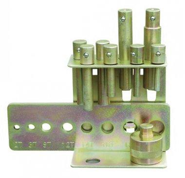 Set di punzonatura 10-30 mm per presse