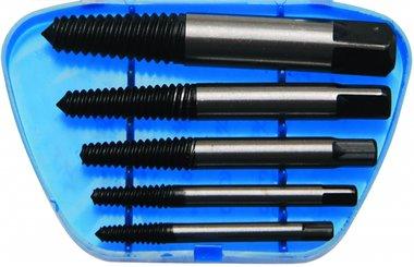 Kit estrattore a vite in 5 pezzi, dimensioni 1-5