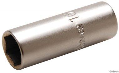 Cappuccio candela, 1/2 azionamento, sw 16 mm