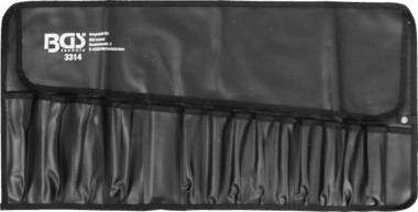 Borsa avvolgibile per utensili con 15 scomparti 660 x 320 mm vuoto
