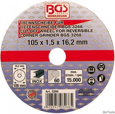 Disco da taglio 105x1,5x16,2