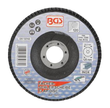 Disco lamellare diametro 125 mm K 120