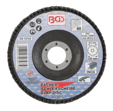 Disco lamellare diametro 125 mm K 60