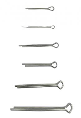 Assortimento perni a spillo diametro 1,6 - 4,0 mm 555-pezzo