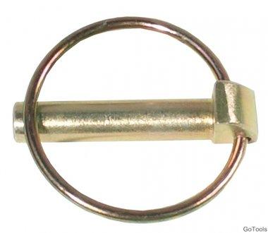 Set di perni di bloccaggio in 2 pezzi diametro 9,5 mm