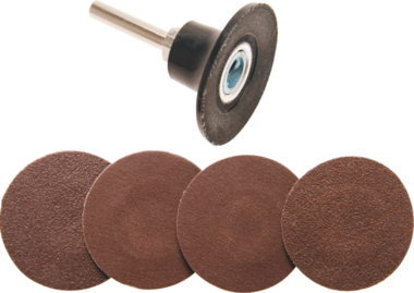 Disco di levigatura 50 mm con perno 6 mm