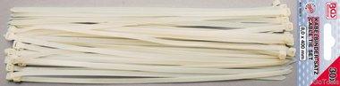 Assortimento fascette bianche 8,0 x 400 mm 30 pz
