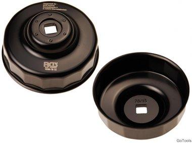 Chiave filtro olio a 15 lati diametro 78 mm per Ford, Nissan, Toyota