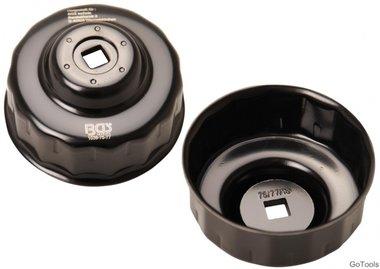 Chiave filtro olio 15 lati diametro 75 - 77 mm per Audi, Ford, Isuzu, Mercedes-Benz, Opel, VW