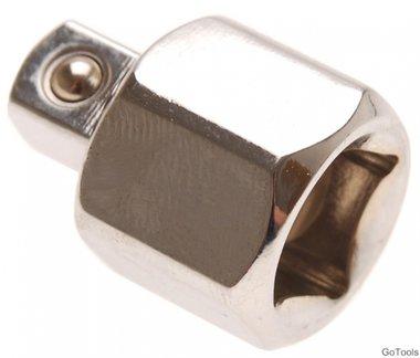 Adattatore per chiave a bussola 12,5 mm (1/2)   10 mm (3/8)