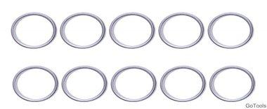 Assortimento di anelli di tenuta per BGS 126 Ø 15 / 18,5 mm 20 pezzi